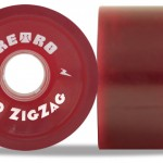 Retro ZigZags 70mm red78a